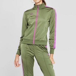 Umbro Green track pants and jacket outfit set S
